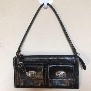 Nordstrom mini purse in black 8X4 super cute